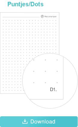 Print Ncode PDF puntjes formaat