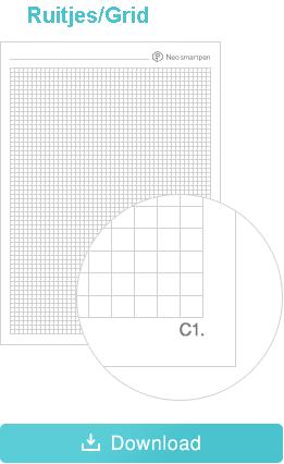 Print Ncode PDF ruitjes formaat