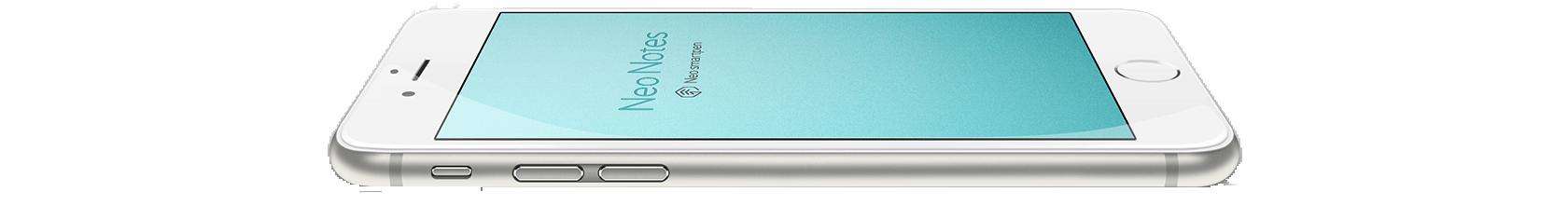 Neo Notes app op smartphone